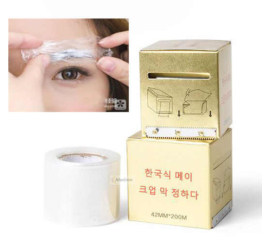 1 Box Microblading Plastic Wrap 42mm*200m Permanent Makeup Preservative Film Tattoo Accessories Eyebrow Cover