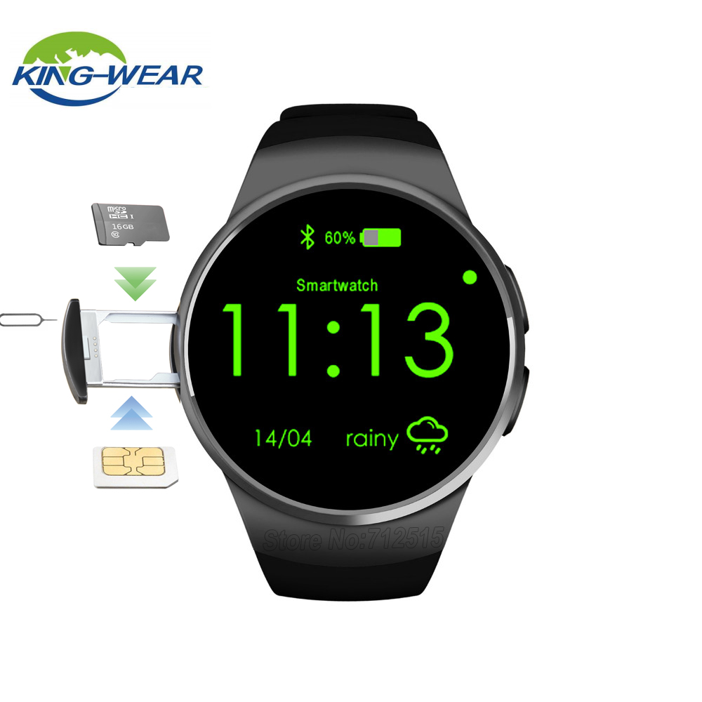 Kingwear KW18 Smart Watch Bluetooth hjärtfrekvensmätare Intelligent - Smart electronics