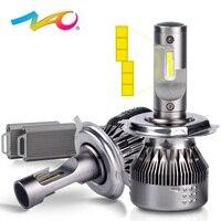 NAO H7 led bulb led h4 led lamp for auto h1 h11 hb4 9006 hb3 9005 12V car lights h8 h9 9003 hb2 Super Bright Car Headlights 530E