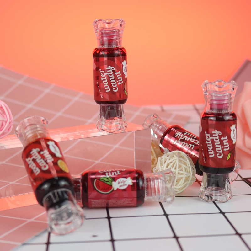K.A.N marka uzun ömürlü lipgloss su geçirmez şeker boyama dudak tonu ile güzel tatlı lezzet sıvı ruj