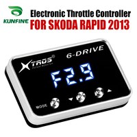 Car Electronic Throttle Controller Racing Accelerator Potent Booster For SKODA RAPID 2013 Tuning Parts Accessory