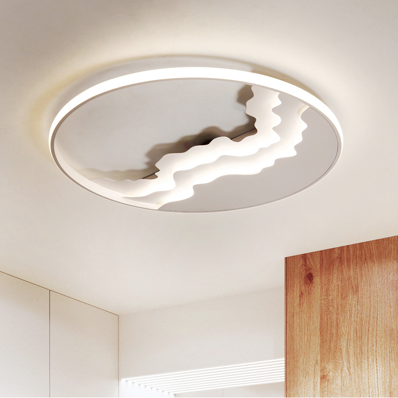 Modern Led Ceiling Lights For Living Room With Remote Control Surface Mounted Ceiling Lamp Bedroom Lighting Fixtures Indoor Home