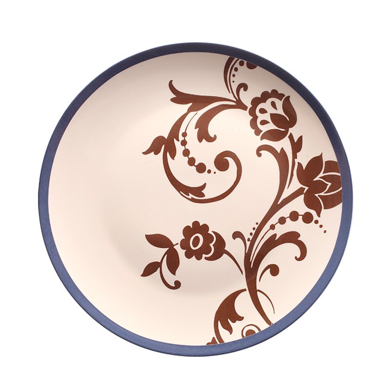 US $28.0 |Modern INS porcelain wall decorative plates decorative dishes  ceramic handicrafts home decorations pendant kitchen accessories-in Bowls &  ...