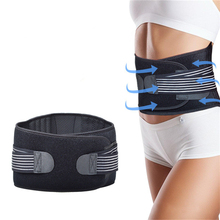 Breathable Waist Supporter Neoprene Cloth Protection Detachable Springs Decompression Belt Lumbar Disc Herniation Guards