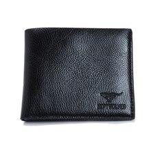 Денежные двойные портмоне короткий сцепления мешки человек роскошные бумажник кожаный pu