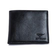 Luxury Mens Wallets Brand Men PU Leather Wallet Clutch Short Male Bifold Coin Purse Money Bags Man Purse