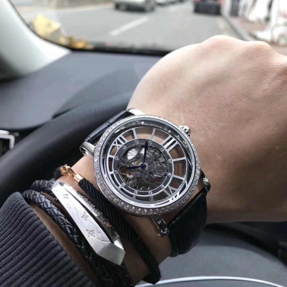 Mens Watches Top Brand Runway Luxury European Design Automatic Mechanical Watch S0720