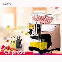 BOZY 01G Oil presser Household Oil press machine for Peanut/ walnuts/ almonds with heating 530W Peanut Oil pressers 110V/220V