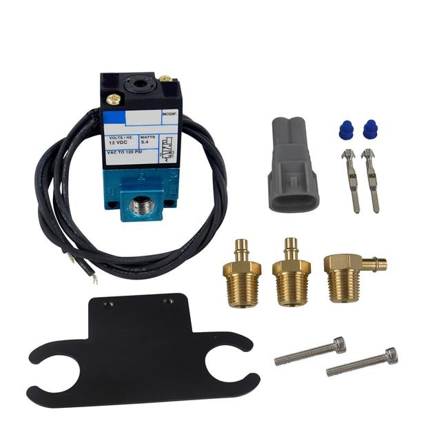 Hypertune - ECU 3 Port Electronic Turbo Boost Control Solenoid Valve For Subaru WRX STI FXT 02-07 HT-ECU02