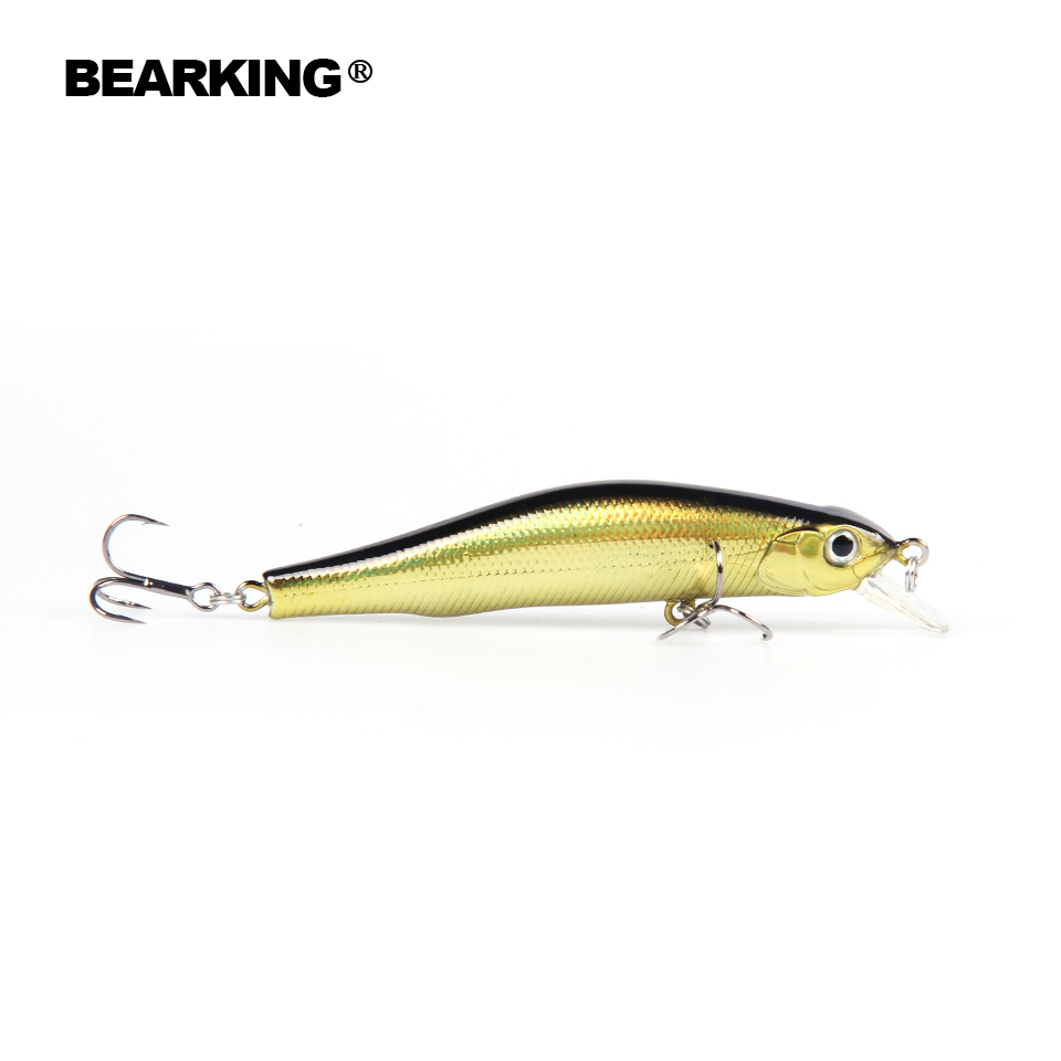 5pcs/.lot. 80mm/8.5g Color send randomly!  A+ fishing lures minnow,quality professional minnow bearking hot crankabits