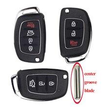 jingyuqin 10pRemote Car Key FOB Shell For Mistra Hyundai HB20 i20 ix35 ix45 Series 2 Verna Santa Fe Solaris ELANTRA Uncut Blade цена 2017