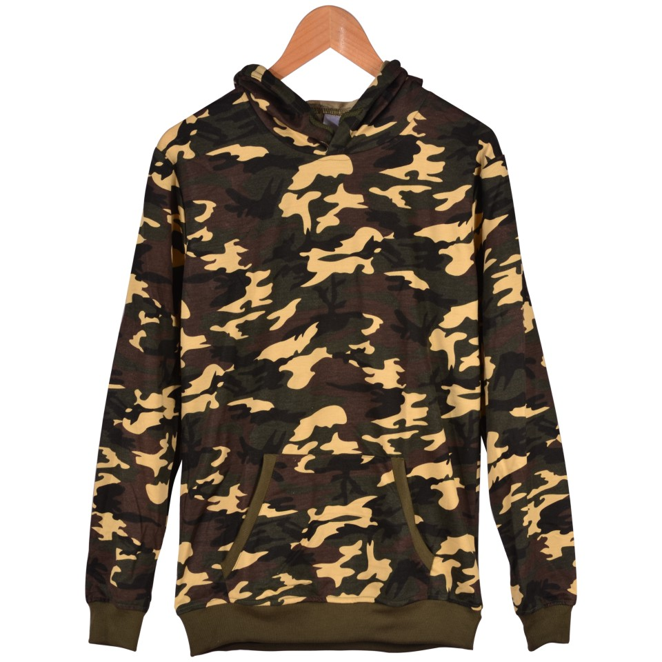 Brand Plus Size And Harajuku Sweatshirt With Cap Camouflage Women Hoodies And HipHop Brand Hoodies XXS To 4XL