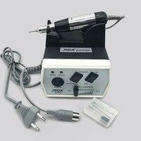 35 W Preto Pro Electric Nail Art Máquina Da Broca Do Prego Equipamentos de Manicure Pedicure Arquivos Manicure Elétrica Broca & Acessório