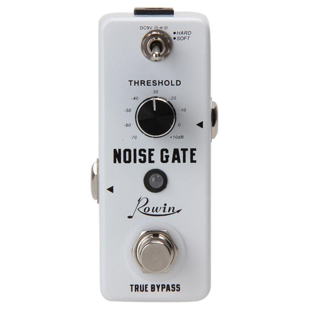 1/4Monaural Jack DC 9V 26mA Hard/Soft 2 Working Modes Noise Killer Guitar Noise Gate Suppressor Effect Pedal