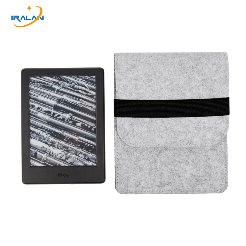 For kindle touch kobo glo E-Readers Slim Wool Felt Sleeve Bag Ebooks New for Amazon Kindle Paperwhite 123 voyage 6 Tablet Case