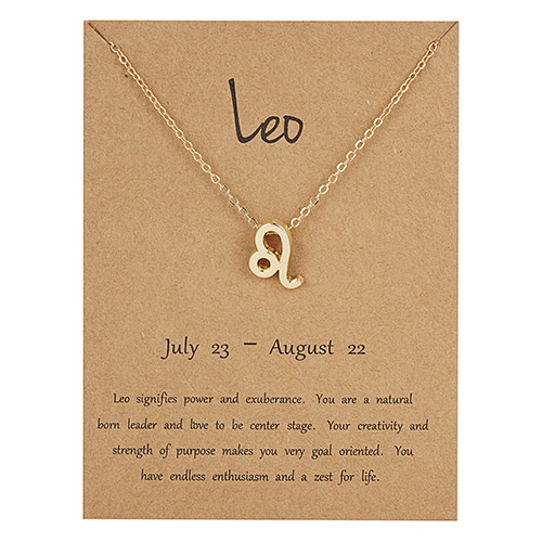 ZODIAC SYMBOL NECKLACE 7