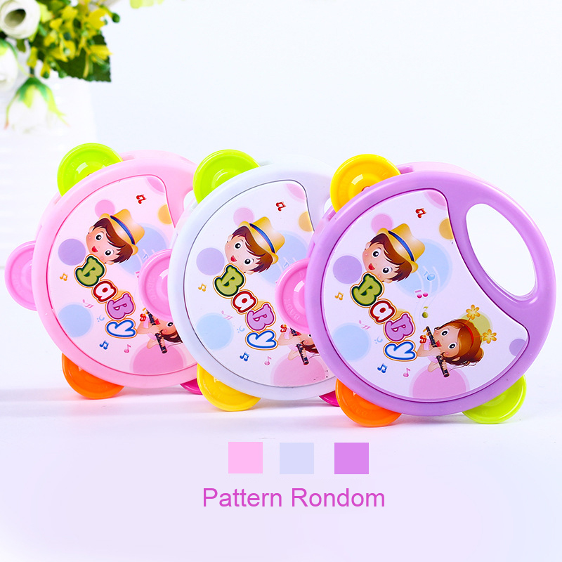 Intelligence Children Music Shaking Hands And Bell Baby Toys For Children Plastic Kid Toy Environmental Protection Baby Born