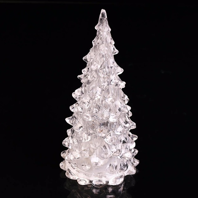 led lamp christmas light tree ice crystal shape colorful decor christmas supplies gifts newest