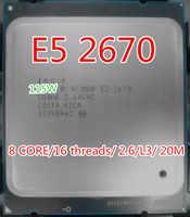 Intel Xeon octa core Prozessor E5 2670/L3 Cache 20 M/2,60/GHz/8,00 GT/ s SR0H8 C1 LGA 2011 buchse und gesendet fett geschenk