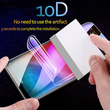 10D Curved soft Protective Film For Xiaomi Mi 9 mi 8 se 6 X max 2 3 mix 2s Screen Protector Full Cover Hydrogel Film Not Glass цена и фото