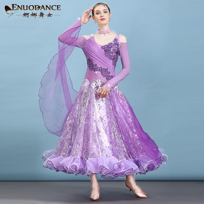 New Ballroom Waltz Modern Dance Dress Ballroom Dance Competition Dresses Standard Ballroom Dancing Clothes Tango Dress  MQ284