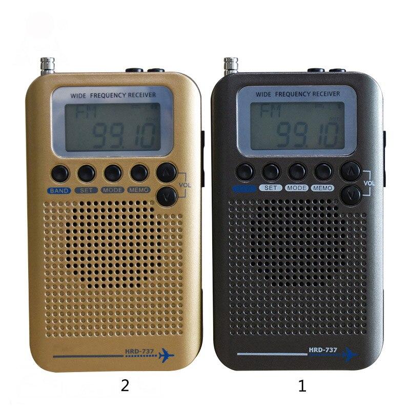 Radio portative multifonctionnelle de réception de Radio FM/AM/SW/Air/VHF LCC77