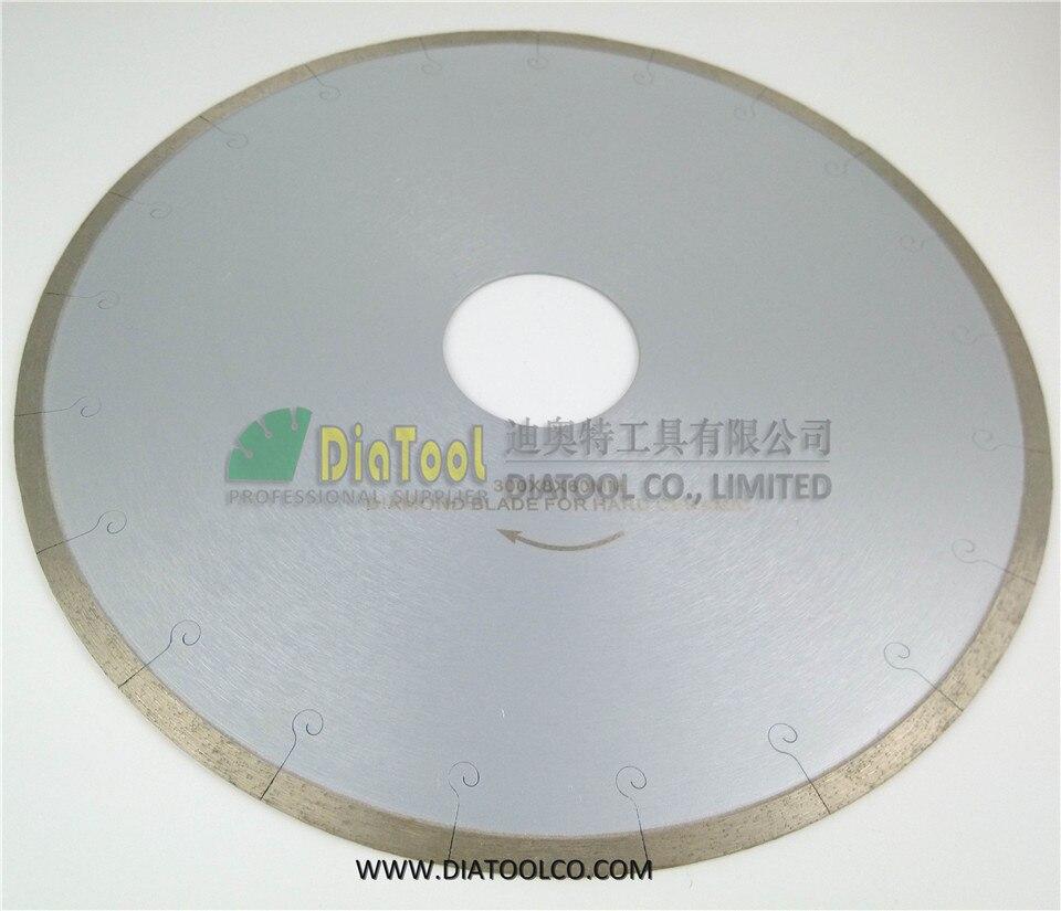 DIATOOL 2pcs 300MM <font><b>Ceramic</b></font> Blades With Hook Slot, Chip-free Diamond Blades For <font><b>Ceramic</b></font>/tile, Porcelain & Marble
