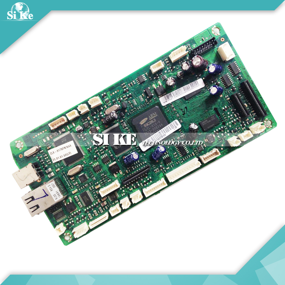 Laser Printer Main Board For Samsung CLX-3175FN CLX 3175FN 3175 CLX3175FN Formatter Board Mainboard Logic Board стоимость