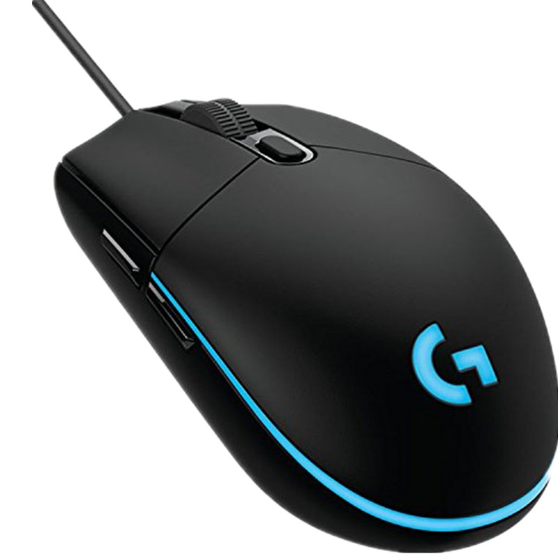 Logitech G102 IC PRODIGY Gaming Maus Optische 6,000 dpi, 16,8 mt Farbe LED Customizing, 6 tasten-International Version-Groß Pack