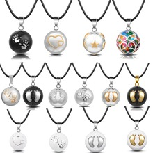 Eudora Harmony Ball Pendant Necklace Pregnancy Chime Ball Mexcian Bola Ball Pendants For Women Fine Jewelry Wholesale 20 Pcs/lot