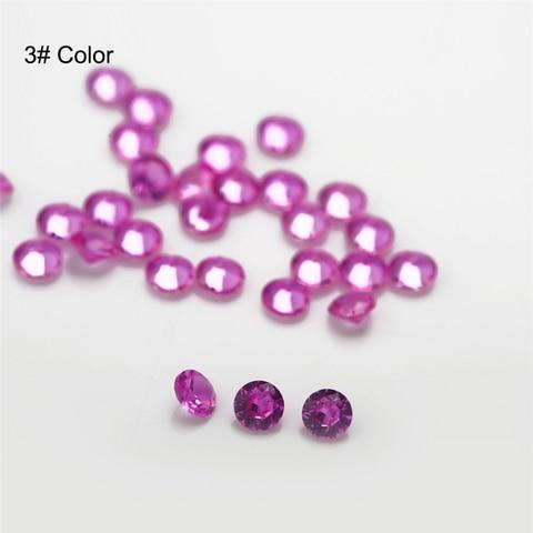 Купить размер 10 ~ 3 мм круглые бриллиантовые вырезы для ювелирных