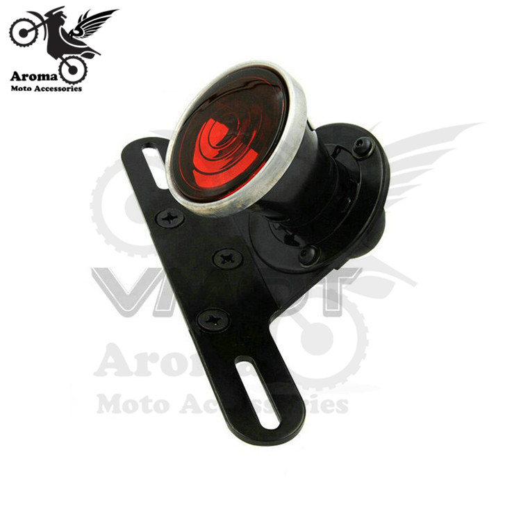 top quality scooter Modified accessories motorbike lamp tail light motorcycle brake light for harley moto rear indicator light