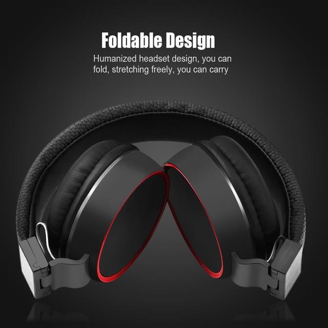 Di alta Qualità Della Fascia Pieghevole Cuffie Stereo Hi Fi Auricolari Per PC MP3/4 del telefono Mobile Sport auricolare con Il Mic cable controllo
