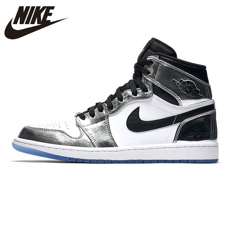 Sport & Unterhaltung Unparteiisch Nike Air Jordan 1 Pass Die Taschenlampe Männer Basketball Schuhe Tragen-beständig Atmungs Leichte Aq7476 016 Angenehm Bis Zum Gaumen