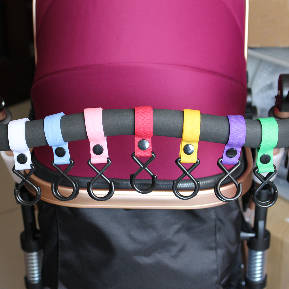 3 Pcs Yoya Baby Stroller Accessories Organizer Hooks Pram Pushchair Hanger Hanging Carriage Double Promotion 2018 Hot Wholesale in Strollers Accessories from Mother Kids