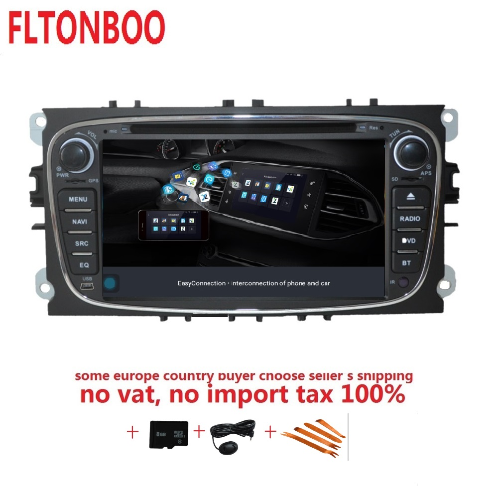 7inch Android 8.1 for ford focus 2,mondeo,car DVD,radio,gps navigation,3G,BT,Wifi,1GB,quad core, support obd,dvr,Russian,english android 8 0 dab autoradio sat navi wifi 3g rds sd dvr obd bluetooth dtv in car gps navigation player for ford transit focus
