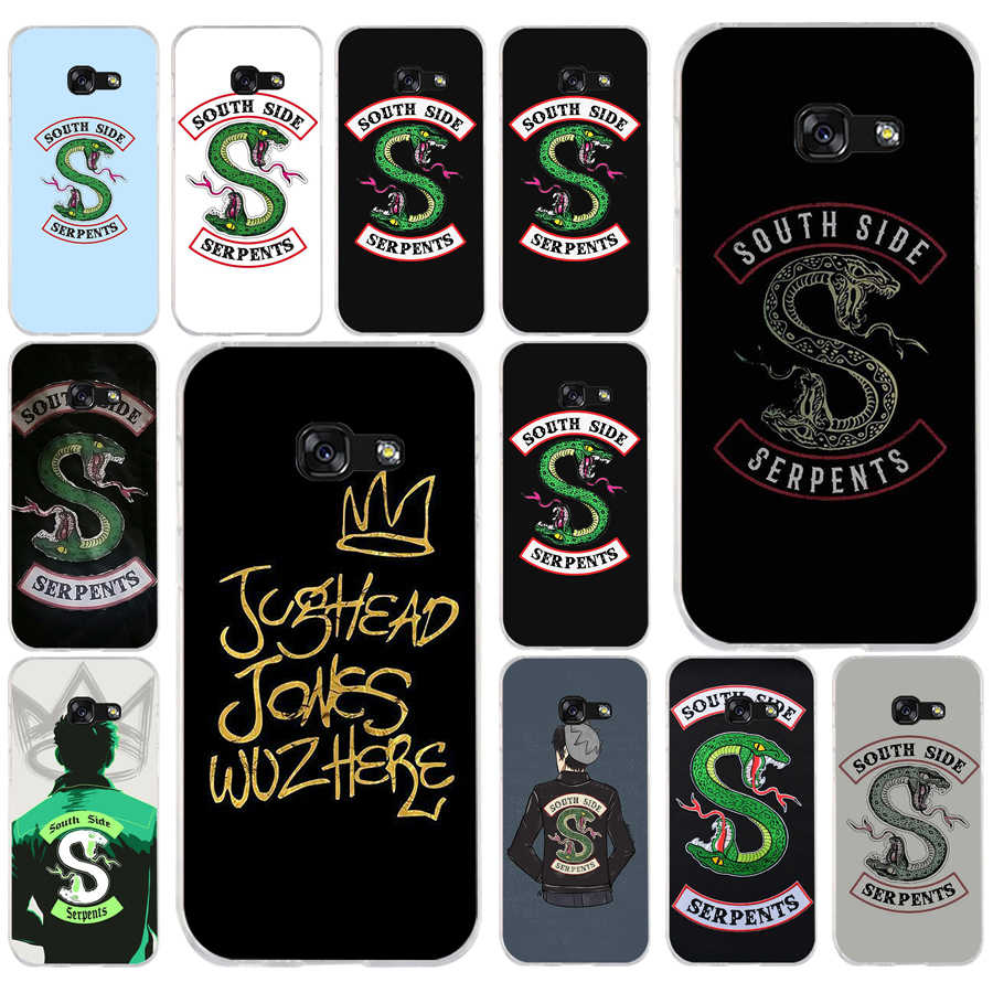 178FG tv riverdale SouthSide Serpent s  Soft Silicone Tpu Cover phone Case for Samsung a3  a5 2017 a6 plus a7 a8 2018 s6 7 8 9