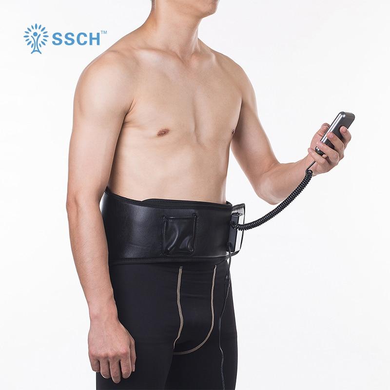 Ceinture thérapeutique de taille de thérapie de stimulation électrique pour soulager la douleur