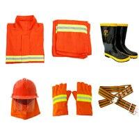 Костюм пожарного 5 платья, одежда тушения пожара защитная одежда