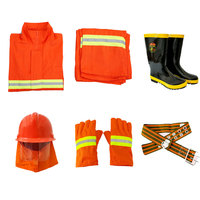 Fire suit 5 dresses, clothing extinguishing fire protection clothing