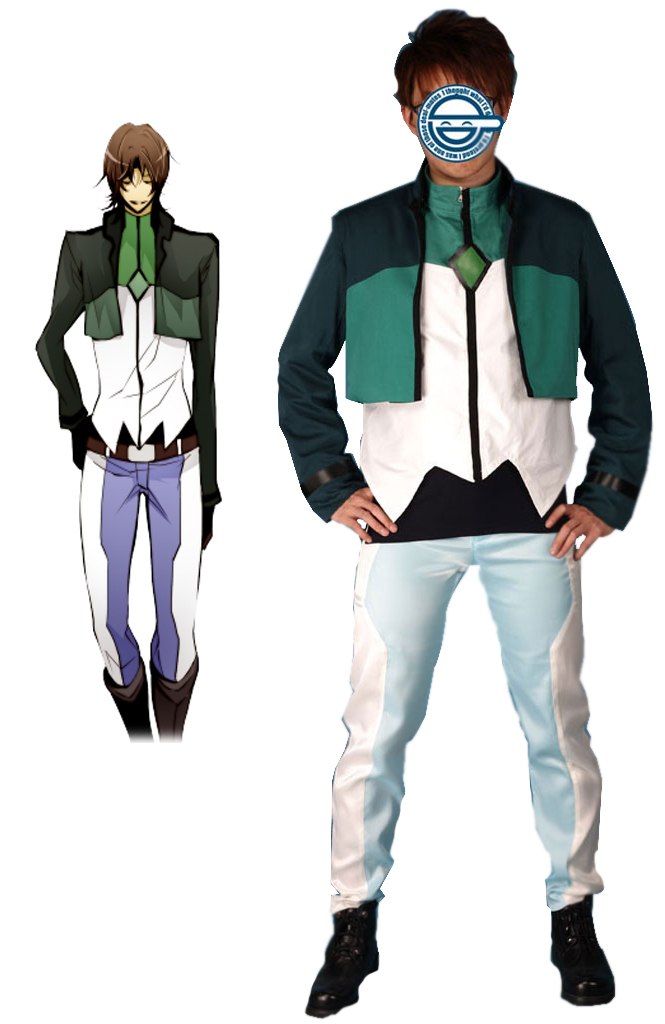 Free Shipping Gundam00 Celestial Being Lockon Stratus Gundam Meisters Uniform Anime Cosplay Costume