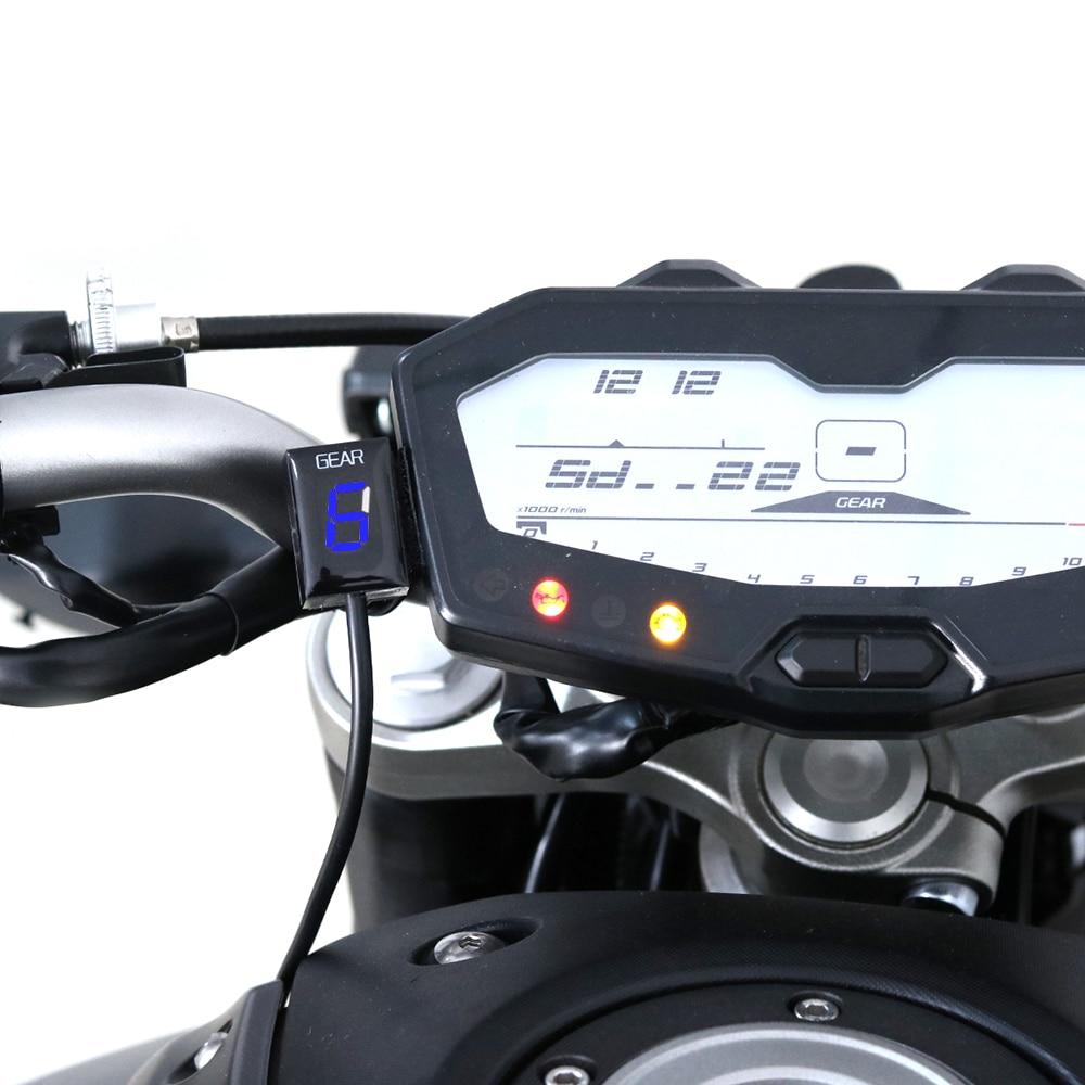 Image 4 - Мотоцикл Ecu прямое Крепление 1 6 скорость шестерни дисплей индикатор для Kawasaki ER6N Z1000SX Ninja300 Z1000 Z800 Z750 versys 650 Z400-in Инструменты from Автомобили и мотоциклы