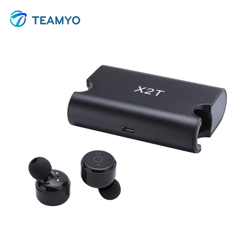 Teamyo True TWS Wireless Earbuds mini Bluetooth Earphone Stereo Headset audifonos with Microphone Charger Box For xiaomi iphone wireless headphones bluetooth earphone suitable for iphone samsung bluetooth headset 4 2 tws mini microphone