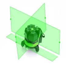 Leter самонивелирующийся зеленый лазерный уровень лазерные линии горизонтальный и вертикальный крест