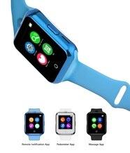 Neue ankunft Smart uhr pulsmesser für android smartwatch sim-karte mit kamera