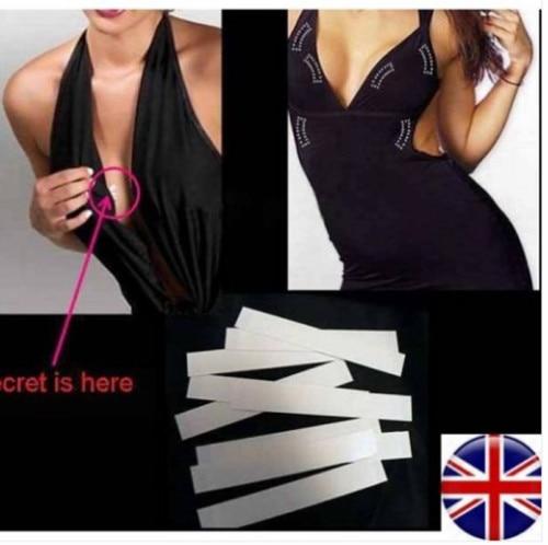 77d99ec278f Detail Feedback Questions about Women Lingerie Tape 5M White Double Sided  Tape Tit Toupee Boob Wig Clear Dress Modesty Body Secret Fashion Tape Strip  on ...