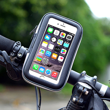 Cycling Bike Motorcycle Waterproof Bag Cell Mobile Phone Stand Holder Pouch Pack for Smartphone iPhone 6/6s Plus Outdoor Sports