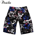 Brand 2017 New Summer casual printed sexy for men brand boardshort shorts luxury quick drying bramuda men's beach shorts trunks