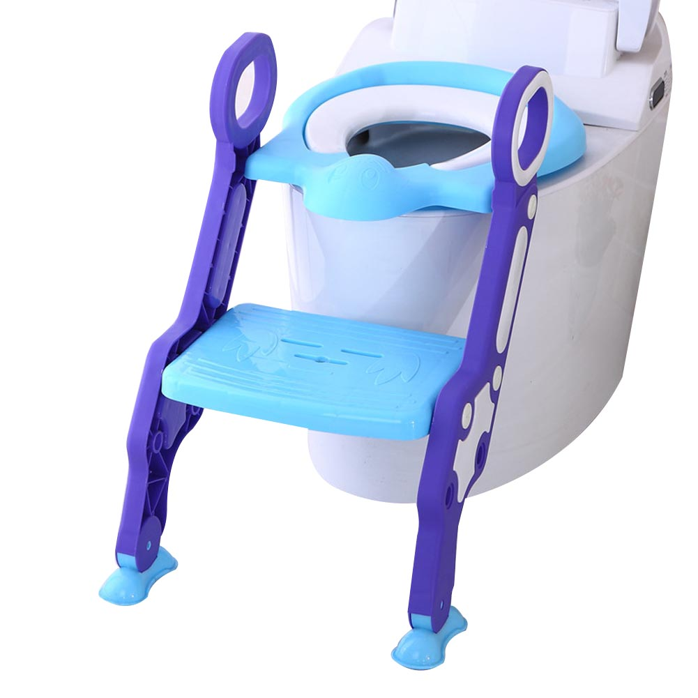 Детские, для малышей Детский горшок сиденья с лестницы крышка Туалет складной стул Пи обучение писсуаров сидения BM88