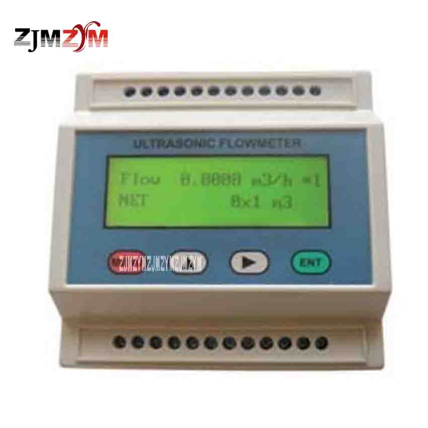 TDS-100M Ultrasonic Flow Meter Cold (Heat) Module Ultrasonic Calorimeter With S2 Small External Clamp Sensor DN15-100mm 8-36VDC цена